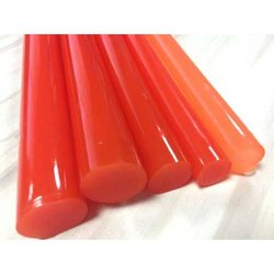 Orange PU Smooth Cord