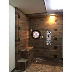 Hinged Stylish Wooden Safety Door, for Home
