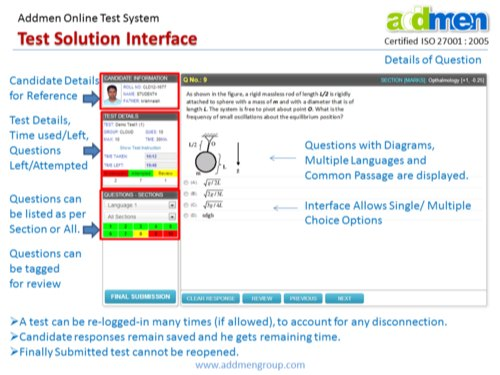 Computer Based Test Software