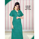 Ladies Cotton Printed Brashow Nightgown