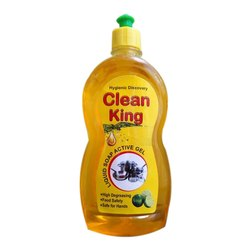 Clean King Lemon Dishwash Liquids, Packaging Type: Plastic Bottle