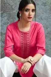Gulzar G Lite Unstich Kurti with Bottom Catalog Collection Collection at Textile Mall