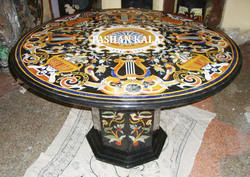 Marble Inlaid Table