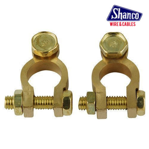 color coated brass battery terminals packaging box rs 250 set
