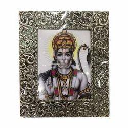 Hanuman Silver Photo Frame