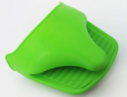 Silicone Pinch Grip Mitten Oven Mitts