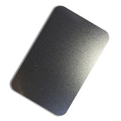 Stainless Steel Black Finish Sheets