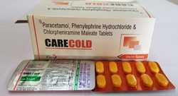 Space Care Paracetamol, Phenylephrine Hydrochloride Tablets, Packaging Size: 10x10, Packaging Type: Box