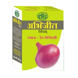 Abhijeet Seeds Onion Red Galaxy Seeds, For Agricultural, Pack Size: 500 G