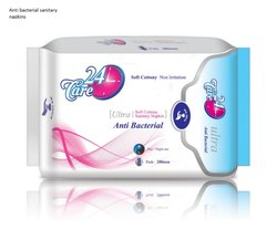 24Care Anti Bacterial Ultra Thin Pads 280 mm