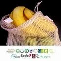 GRS Recycle Cotton Net Bags