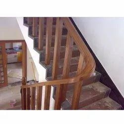 Teak Wood Handrail