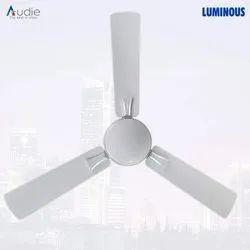 Luminous Audie 1200 Mm 70-Watt Ceiling Fan (Mirage White), Fan Speed: 380 Rpm, Power: 78W