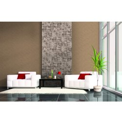 Glazed Vitrified Satin Johnson Porselano Smart Crown Gris Accent Wall Tiles, Thickness: 5mm