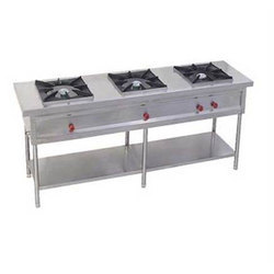 LPG 3 Burner Cooking Range