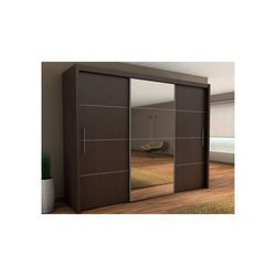 Plywood Bedroom Modular Wardrobe, Length : 7-8 feet