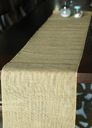 Jute Burlap Table Runner