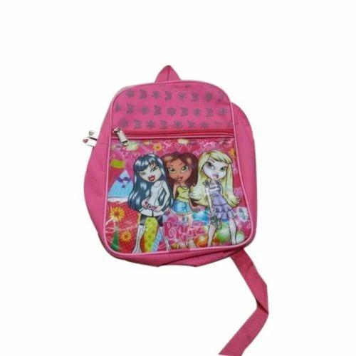 Pink Stylish Kids School Bag