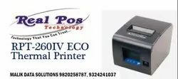 Realpos Tech Black And White Thermal Printer