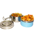 Coloured Stainless Steel Tiffin Ware