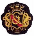 Navy Blue Gold Badges