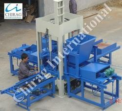 Semi-Automatic Concrete Brick Making Machine