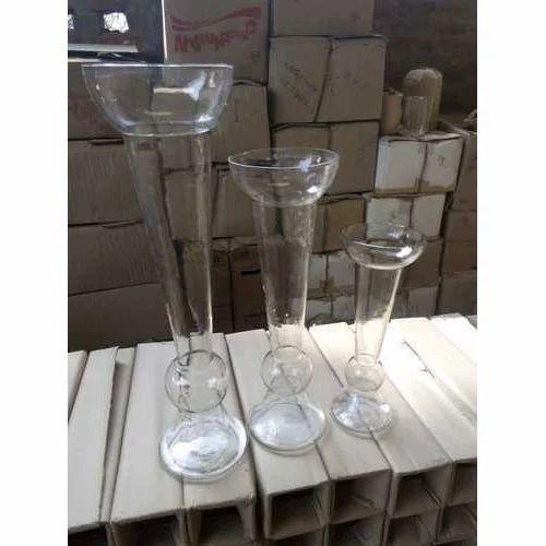 Glass Plain Vase Set Rs 1350 Set Sb Creation Id 19674075262