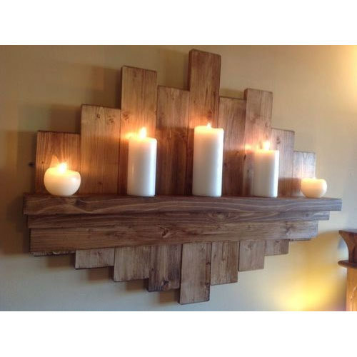 0630bc4fe30 Wooden Wall Hanging Candle Stand at Rs 5000  piece