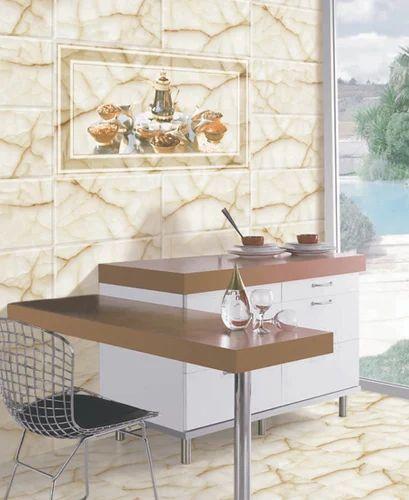 Digital 300x450 Kitchen Wall Tiles Size Small Rs 130 Box Id 15851416030