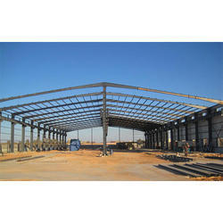 Steel Shed Structure Fabrication Service