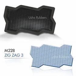 M 228 Plastic Zigzag Mould