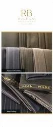 Yarn Fibre Dyed Suiting Fabric