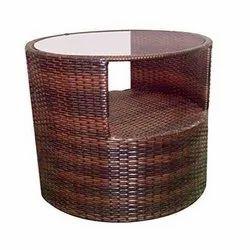 Universal Furniture Rattan & Wicker Modern Round Table