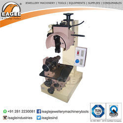 Single Head Horizontal Jewels Faceting and Milling Machine