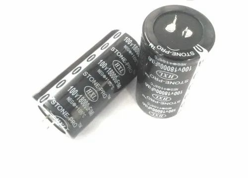 18000 MFD 100V STONE-PRO Aluminium Capacitor for Power