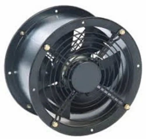 Round Casing for Axial Fans with External Rotor Motors