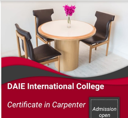 Certificate In Carpenter Service