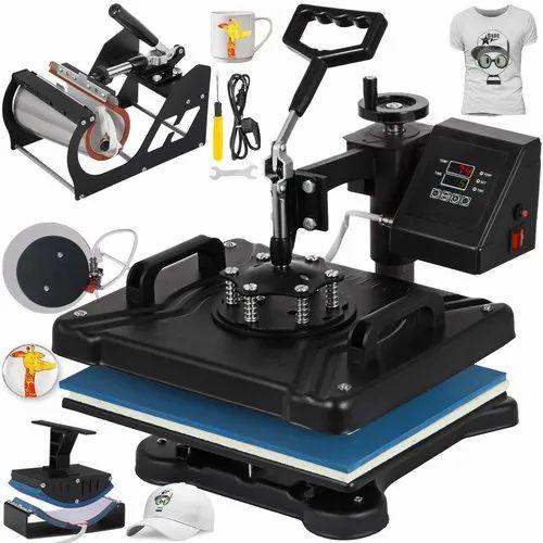 Bestsub T-Shirt Mug Printing Combo Heat Press, Automation Grade: Automatic, Model Number: Combo Machine