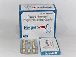 Natural Micronised Progesterone 200 Mg Softgeltin Capsules
