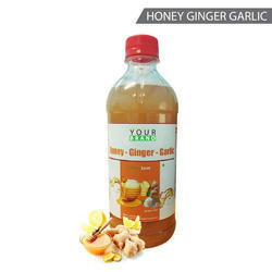 Honey Ginger Garlic Cider