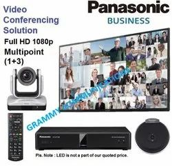 Panasonic Video Conferencing System : Multipoint 4-Sites Connection with 12x Optical Zoom