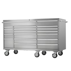 Stainless Steel Tool Box Trolley