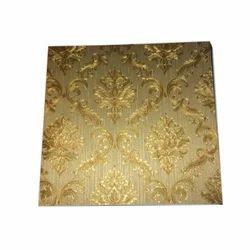PVC皇家图案墙面覆盖物锦缎壁纸,厚度:2-4毫米