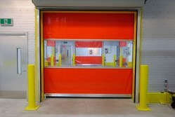 B&V Membrane High Speed Roll-up Doors For Industrial & Residential
