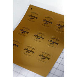 image about Printable Foil Paper named Printable Foil Sticker