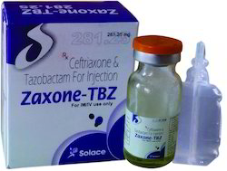 Ceftriaxone 250 mg, Tazobactum 31.25 mg Injection