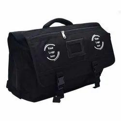 Bagminister.com Shoulder Bag Black Old Satchel School Bag, Size: Width-19, Height-15 Inches