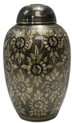 Beautiful anique metal urn