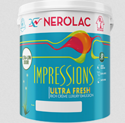 Nerolac Paint Impression Ultra Fresh