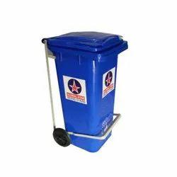 120 L Plastic Wheel Dustbin